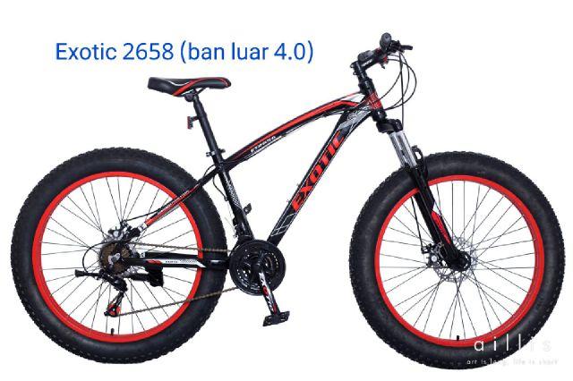 sepeda EXOTIC – grosir sepeda Surabaya 081 70 333 8393
