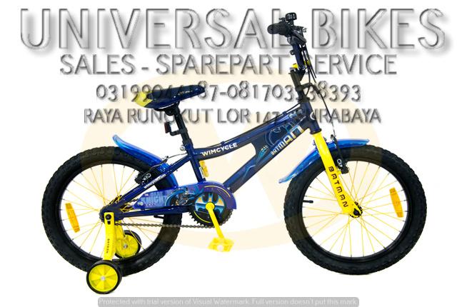 distributor sepeda anak wimcycle surabaya 081703338393 (WA