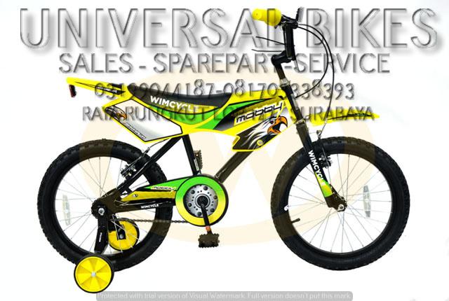 jual sepeda anak wimcycle surabaya 081703338393 (WA LINE