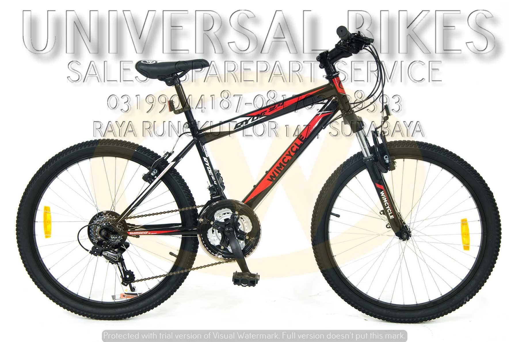 harga sepeda bmx wimcycle surabaya 081703338393 grosir