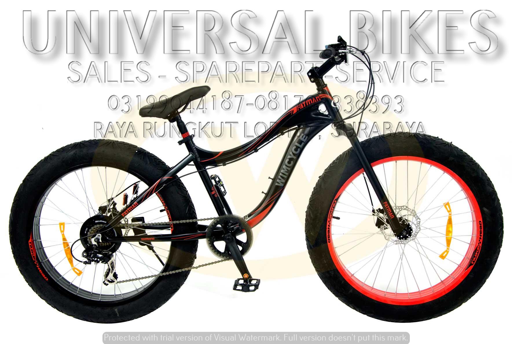 grosir sepeda wimcycle surabaya 081703338393 grosir