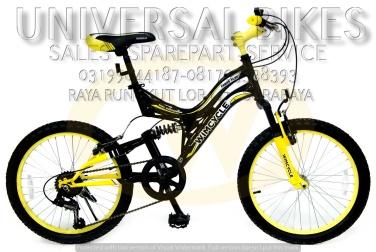 grosir sparepart alat sepeda wimcycle MTB 20 surabaya