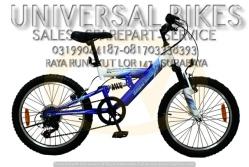 grosir sparepart alat sepeda BMX wimcycle surabaya