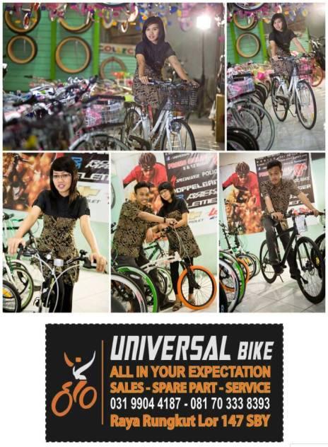 harga sepeda UNITED surabaya